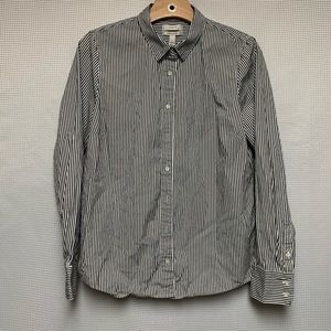 J. Crew Stretch Perfect Button Down Shirt